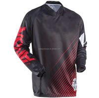 Customized Men's motorcycle team racing shirts, BMX jersey, blank Motocross Jerseys