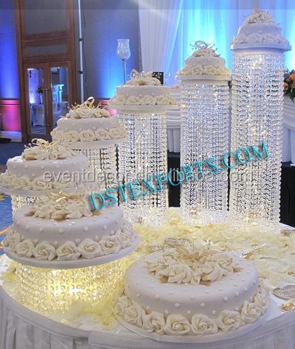 Led On Wedding Cake