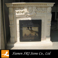 cheap fireplaces china,marble fireplace