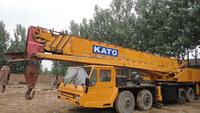 50T Originally used hydraulic telescopic boom KATO NK500E-III mobile / truck crane for sale