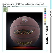 professional Official size&weight size 7 laminated PVC/PU basketball