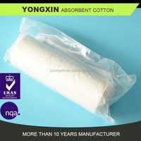 500G cotton roll ,medical cotton wool to stop bleeding ,First care use