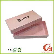 Popular custom luxury scarf gift paper box packaging