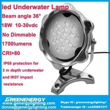led underwater light IP68 36degree led underwater lamp swimming led underwater light led pool light