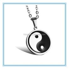 Popular Hot Selling stainless steel yin yang pendant