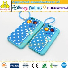 Custom Fashion Eco-friendly Silicone Phone Case Carry-on Mobile Phone Cover Dots Pattern Mobile Phone Case for Gifts