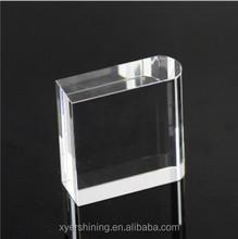 2015 em branco em branco de cristal do metal réplica trophy oscar