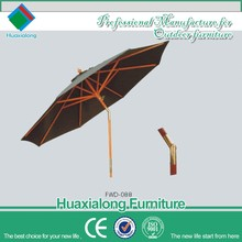 Modern outdoor garden folding patio outdoor restaurant umbrella