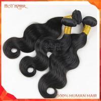 Overseas Brazillian Hair 6A Top Quality Brazilian Virgin Hair Natural Black Body Wave Brazilian Virgin Hair