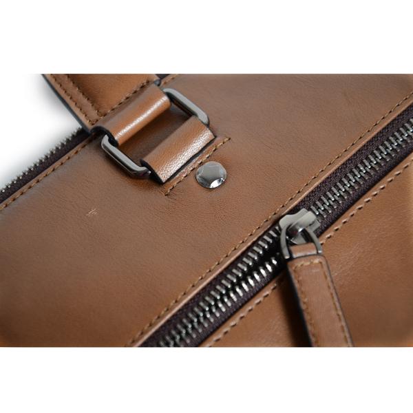 2014 hot selling genuine leather business man shoulder bag