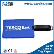 wholesales eco-friendly standard size custom logo bulk luggage tags