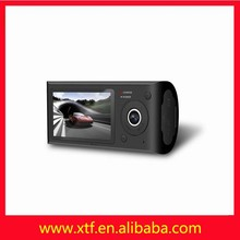 Wholesale sales 2.7 inch double wide Angle lens GPS taxi camera system