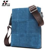 Tiny easy carying nubuck leather sling bag