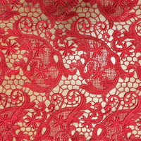 2015 new design brocade embroidery fabric for wedding S1286