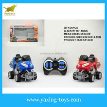 Mini moto toys for kids ,4 channel remote control black wheel motorcycle YX000110