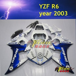 High Quality ABS Injection Motorcycle body work for YAMAHA YZF R6 03