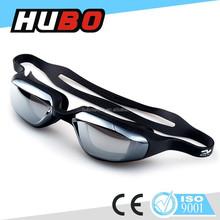 New design mirror coating silicone anti glare adult swimming goggles