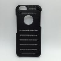Metal Speak Mesh Desigh cooler case PC+ Metal Case For iPhone 6 Metal Net PC Case