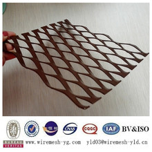 best price wall curtain expanded hexagonal aluminum mesh(ISO9001)