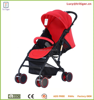 2015 New hot selling lightweight cheap one hand easy quick fold 2 in 1 baby stroller