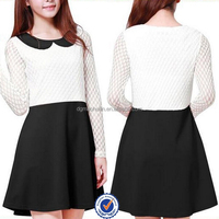 latest casual designs of winter shirts long sleeve fashion dresses for elegant girls