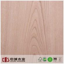 Masterpiece Natural wood veneer Cherry AAA, hot selling