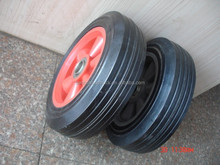 "8""x12"" rubber solid tire wheel"