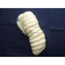 Combed And Worsted Mohair Wool Tops White 28mic/95m With Factory Price
