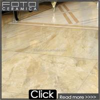 Full polished beige color glazed porcelain tile 600x900mm foshan brand floor tile