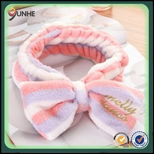 tiara headband wide elastic bow hair bands wash