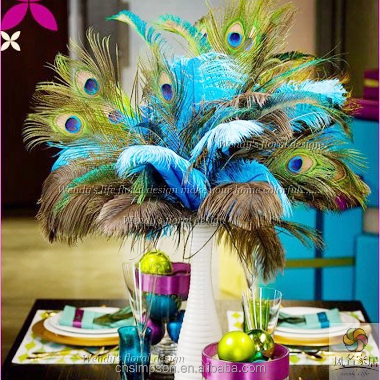 Peacock plumes eyes feathers peacock feathers craft for Where can i buy peacock feathers craft store