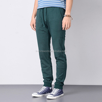 Latest Pocketed men open crotch pants