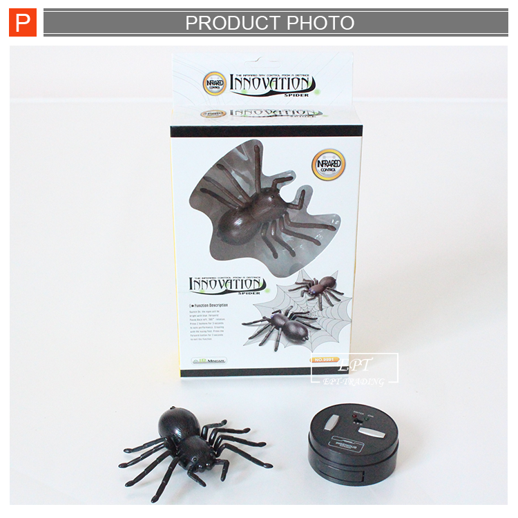 Novel funny toys high quality remote control battery spider toy with battery for children.png