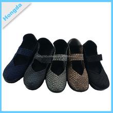 Fashion & comfortable handmade women woven shoes casual shoes