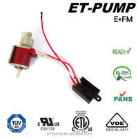 micro ac piston/solenoid pump with electronic control board