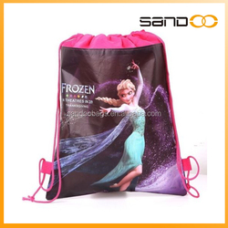 cute Elisa Frozen Drawstring bag Small string bag Frozen