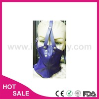 Leather or PVC Material lace eye face mask with ant face mask