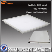 Aluminium 600*600 surface mounted dimmable 50w Panel lux