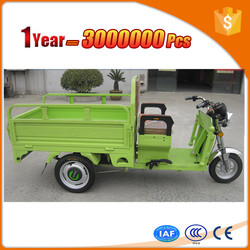 purple electric truck cargo tricycle with durable motor