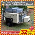 Nueva caravana diseño caretta fuera remolque caravana de ruta para la venta