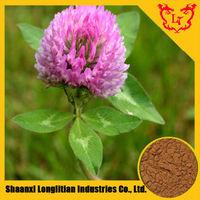 Pure Red Clover Extract / Trifolium pratense L. / 8%,10%,20%,40%,60% Isoflavones