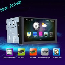 AL-5701 HD Touch Screen In Dash 1.6G Ram 8G Rom Customize Two Din Android Car DVD Player