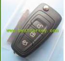 New arrived!! 3 butons remtoe car keys 433mhz with 4d63 chip 80bit for Ford key car keys ford focus