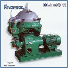 Vertical disc stack type diesel water marine separator