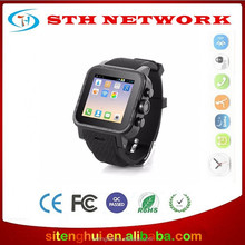 Dual Core Android 4.4 Smart Wrist Watch Mobile Phone with 3G GSM for Samsung S2/S3/S4/Note 2/Note 3 HTC Android Phone