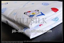 Cute baby silk blanket