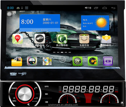 Popular DP7088-A 7inch one din pure android 4.1 .1OS car GPS radio audio audio ipod with gps 3G WIFI etc.for most of cars.