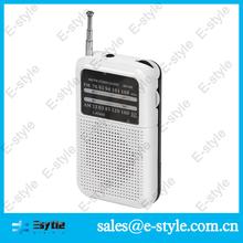 2014 de China am fm radio portable