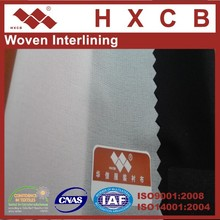 (3412)100% Polyester Woven Interlining Twill Fabric For Suit