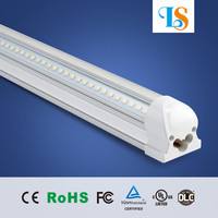 2600-6500K high brightness Ra80 IP44 t8 v shape led 1.5m 5ft tube light 24w 25w 26w 28w 30w lighting tubes with wide beam angle